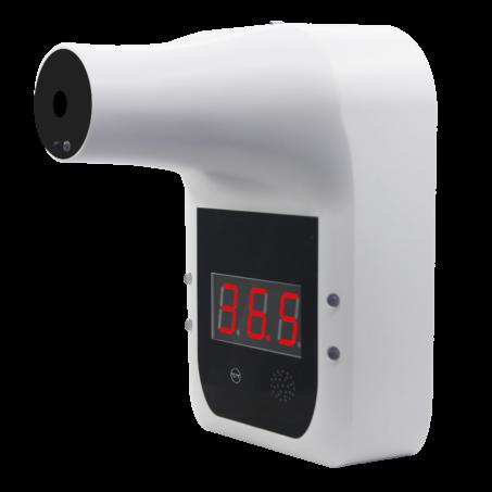 Falra szerelhető automata infravörös lázmérő digitális kijelzővel