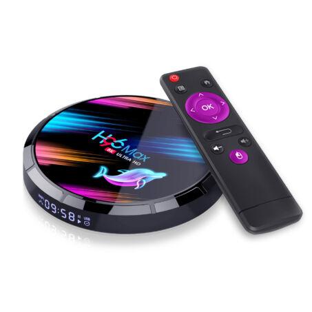 H96 Max X3 8K UHD Android 9.0 Smart TV okosító Box 32GB