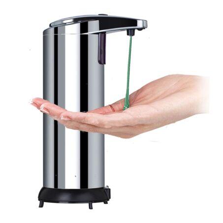 Inox érintésmentes automata szappanadagoló