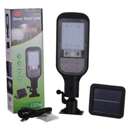 Mozgásérzékelős LED lámpa különálló napelemmel, 120W