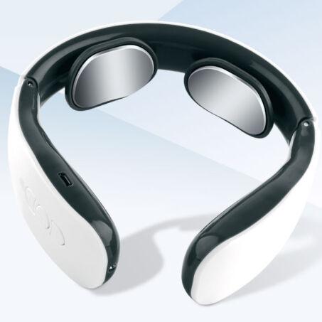 Intelligens nyakmasszírozó elektromos impulzusokkal, mágneses hatással