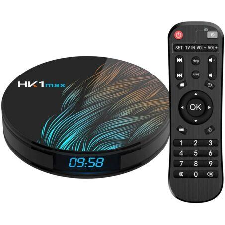 Leovin HK1 smart TV box Android 9.0 rendszerrel, 4GB RAM, 64GB ROM