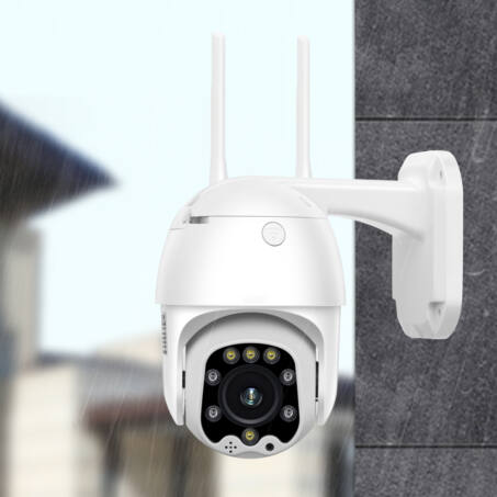 Kültéri távolról vezérelhető  WiFi PTZ biztonsági kamera