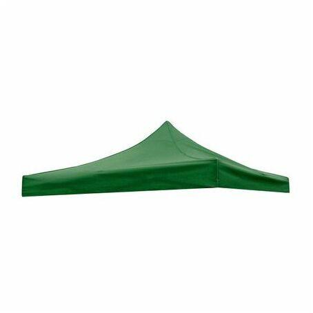 Értékcsökkent - Tetőponyva sörsátorhoz, pavilonhoz, 3x3m-es méretben, zöld
