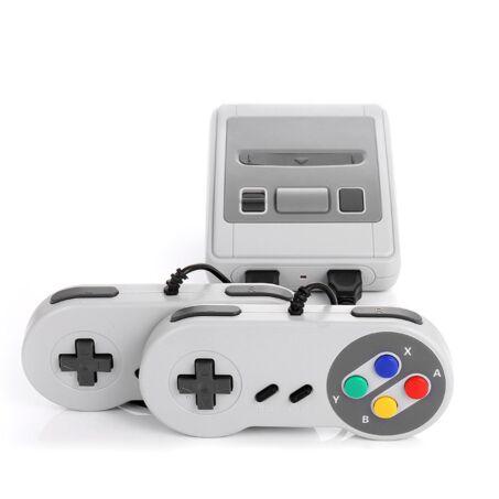 Retro játékkonzol + 2 db kontroller 620 beépített játékkal