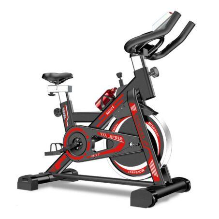 Spinning kerékpár, fitness bicikli ajándék alumínium kulaccsal