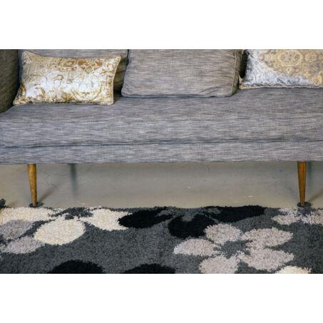 Shaggy szőnyeg, barna színátmenetes, Sophia, 120x170cm