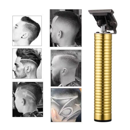Profi fémházas akkumulátoros precíziós hajnyíró és trimmelő készlet