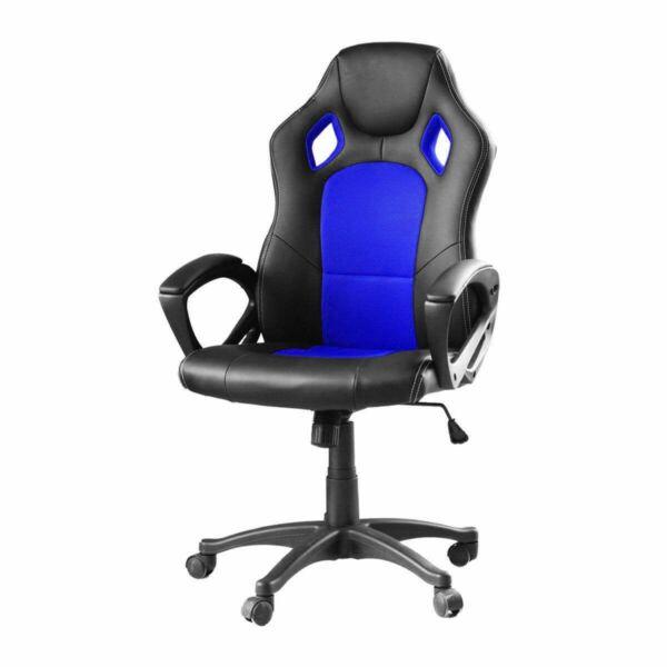 Gamer gurulós szék basic - Kék