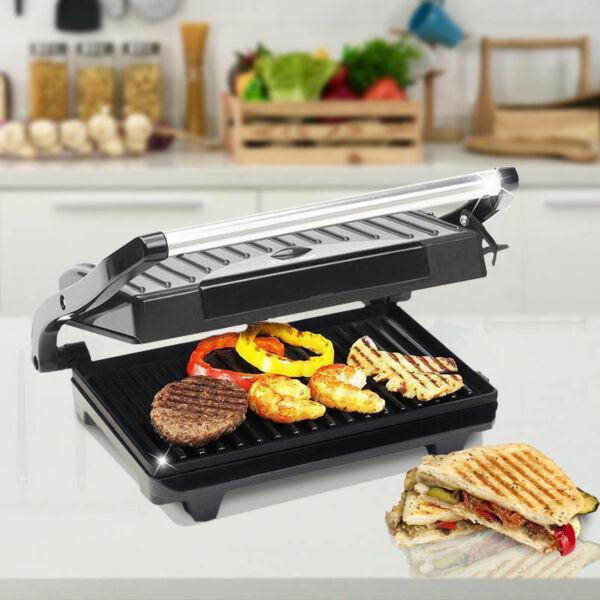 Royalty Line elektromos grill-, és panini sütő 750W teljesítménnyel
