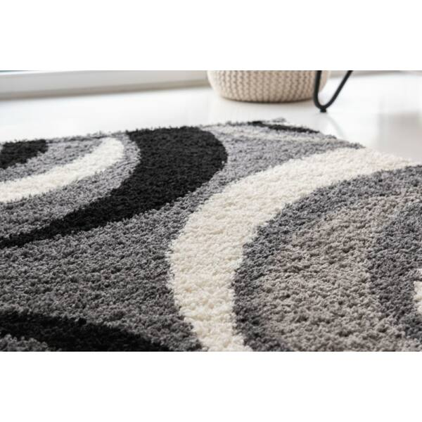 Shaggy szőnyeg, barna színátmenetes, Elizabeth, 120x170cm